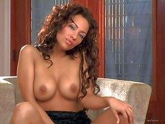 Bridget Banks is one curly haired beautiful adult sculpt nearby